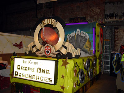 "2005 - Krewe du Vieux Asks ""What Would Krewe du Vieux Do?"""